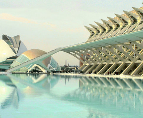 City of Arts and Sciences of Valencia, Spain
