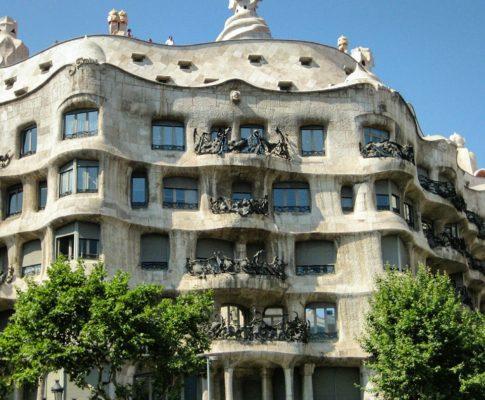 Antoni Gaudí, Barcelona, España